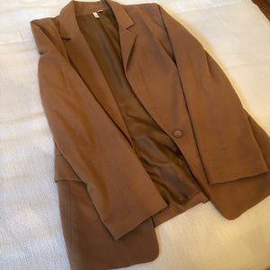 Carmel colored blazer